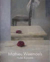 Mathieu Weemaels-livre-huiles Et Pastels - Couverture Sans Bord